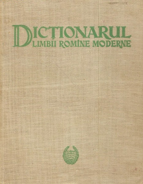Dictionarul limbii romane moderne - Academia RPR
