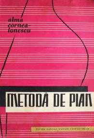 Metoda de pian - Alma Cornea-Ionescu