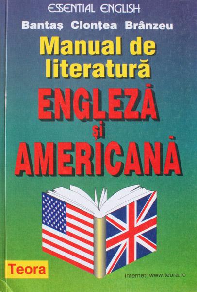 Manual de literatura engleza si americana - Andrei Bantas
