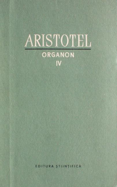 Organon IV - Aristotel