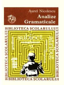 Analize gramaticale - Aurel Nicolescu