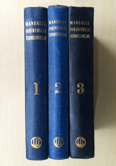Manualul inginerului termotehnician (3 vol.) - coord. Bazil Popa