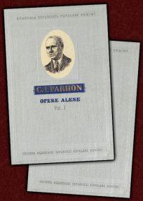 Opere alese (2 vol.) - C.I. Parhon