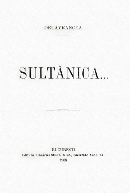 Sultanica (editia definitiva
