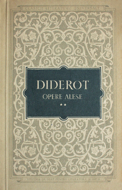 Opere alese (2 vol.) - Denis Diderot