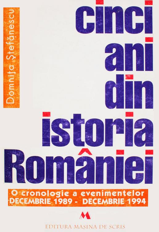 Cinci ani din istoria Romaniei - Domnita Stefanescu