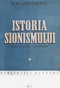 Istoria sionismului (1945) - Dr. Th. Lowenstein