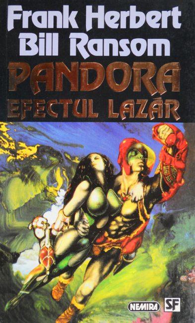 Pandora. Efectul Lazar - Frank Herbert