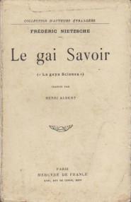 Le Gai Savoir - Frédéric Nietzsche
