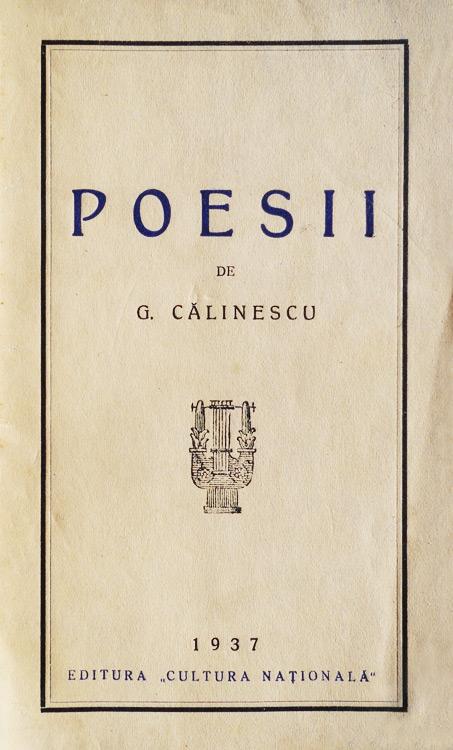 Poesii (editia princeps
