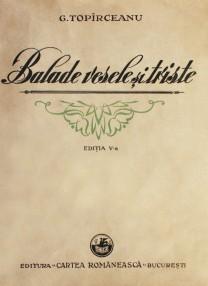 Balade vesele si triste (1939) - George Toparceanu