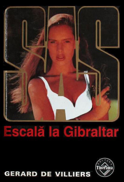 SAS: Escala la Gibraltar - Gerard de Villiers