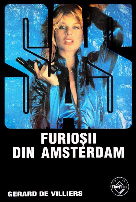 SAS: Furiosii din Amsterdam - Gerard De Villiers
