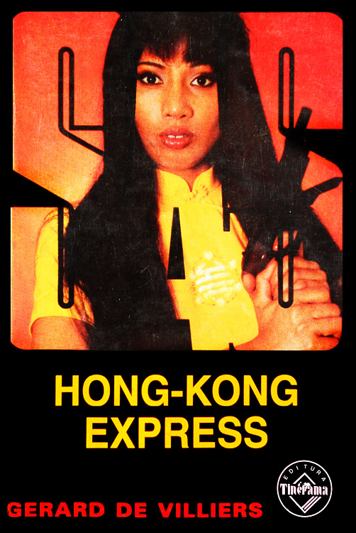 SAS: Hong Kong Express - Gerard De Villiers