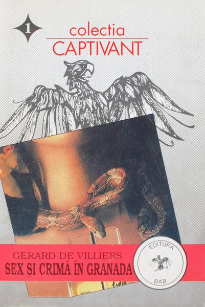 Sex si crima in Granada - Gerard de Villiers