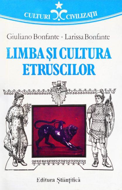 Limba si cultura etruscilor - Giuliano Bonfante