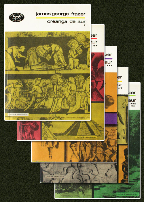 Creanga de aur (5 vol.) - James George Frazer