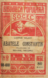 Abatele Constantin - Ludovic Halevy