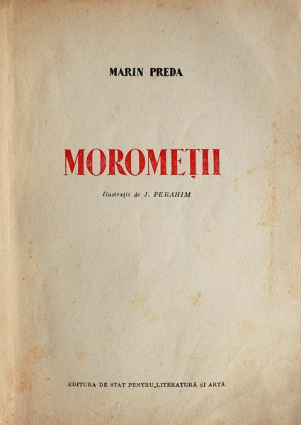Morometii (2 vol.