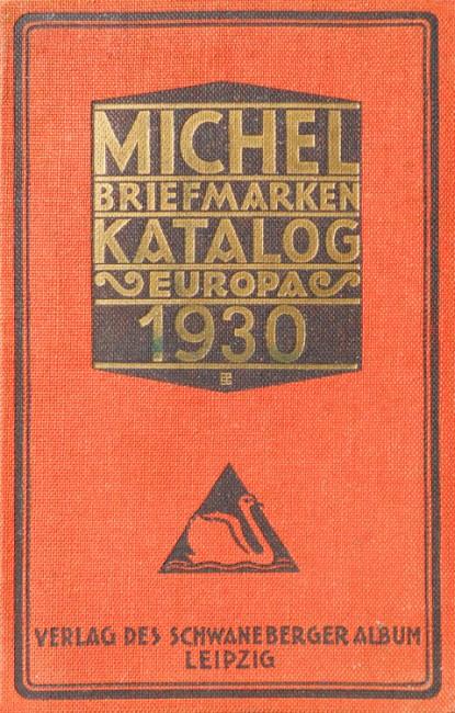Michel Briefmarken Katalog Europa 1930 - Michel
