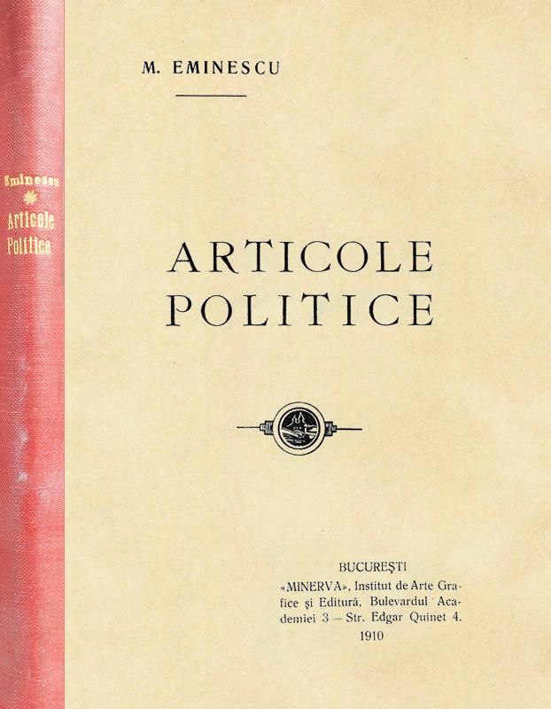 Articole politice (editia princeps