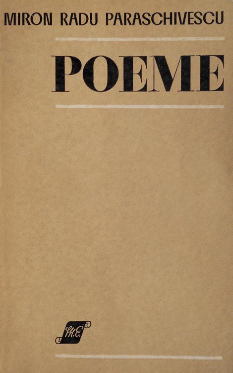 Poeme - Miron Radu Paraschivescu