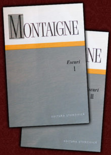Montaigne - Eseuri