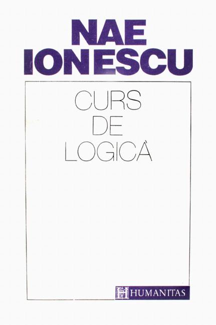 Curs de logica - Nae Ionescu
