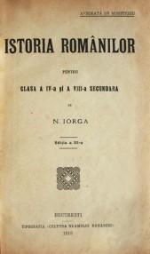 Istoria romanilor (1910) - Nicolae Iorga
