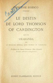 Le destin de Lord Thomson of Cardington (editia princeps