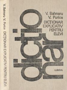 Dictionar explicativ pentru elevi - V. Bahnaru