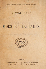 Odes et Ballades (edition definitive
