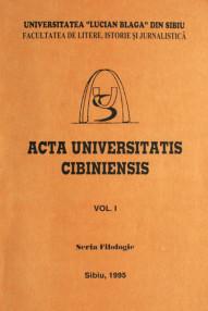 Acta Universitatis Cibiniensis - ***