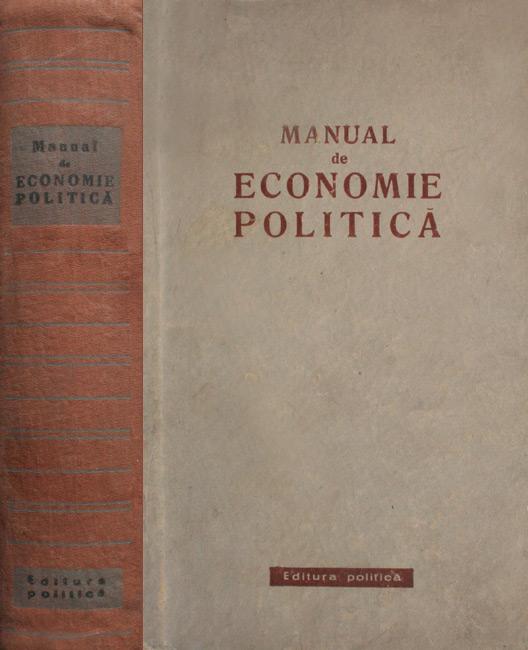 Manual de economie politica -