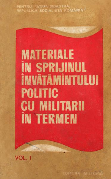 Materiale in sprijinul invatamantului politic cu militarii in termen -