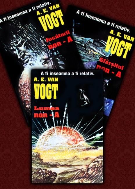 Lumea non-A. Jucatorii non-A. Sfarsitul non-A (3 vol.) - A.E. Van Vogt