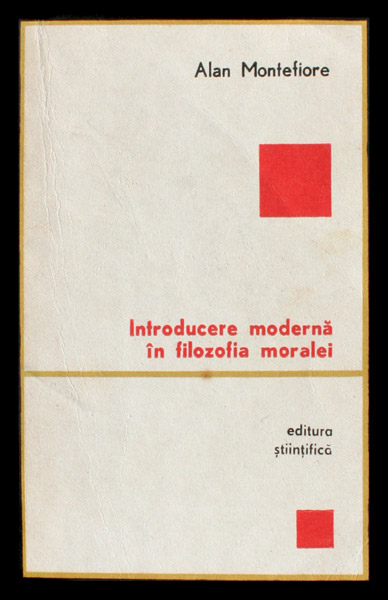 Introducere moderna in filozofia moralei - Alan Montefiore