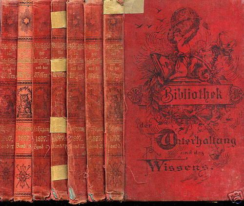bibliothek der unterhaltung und des wissens band 5 1885 antologie. Black Bedroom Furniture Sets. Home Design Ideas