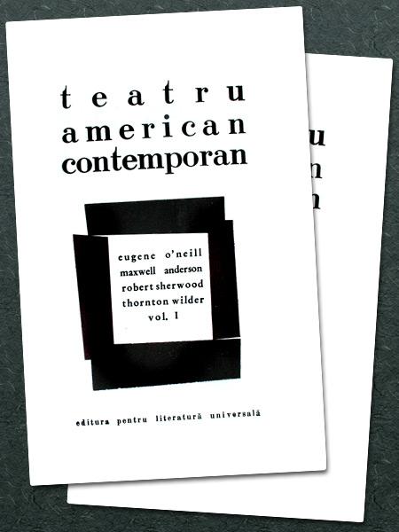 Teatru american contemporan (2 vol.) -