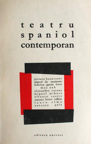 Teatru spaniol contemporan - Antologie