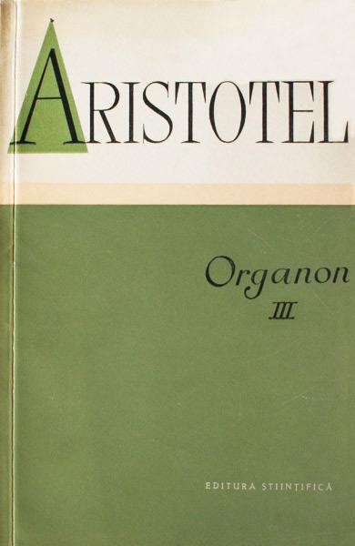 Organon III - Aristotel
