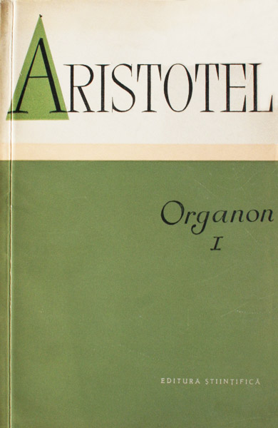 Organon I - Aristotel