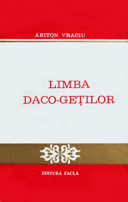 Limba daco-getilor - Ariton Vraciu