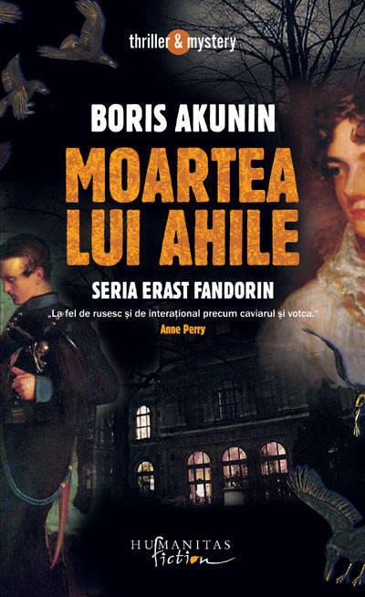 Moartea lui Ahile - Boris Akunin