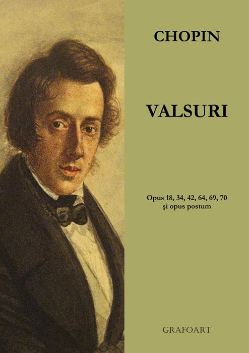Valsuri pentru pian (partituri) - Frederic Chopin