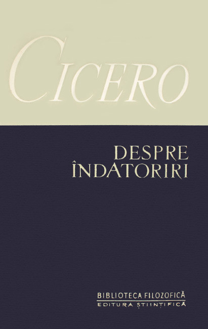 Despre indatoriri - Cicero
