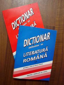Dictionar antologic de literatura romana vol.I + vol.II - Constanţa Bărboi