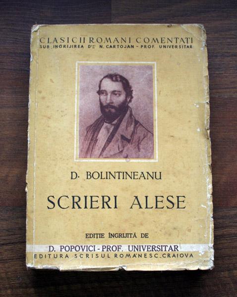 Scrieri alese (editie interbelica) - Dimitrie Bolintineanu
