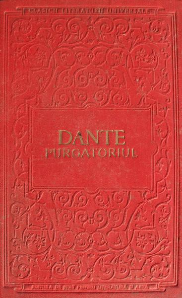 Purgatoriul - Dante Alighieri