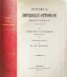 Istoria imperiului otoman (editia princeps, 1876), de Dimitrie Cantemir